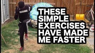 2 Speed Drills To Increase Speed & Explosiveness | 2 Speed Exercises & Training For Speed