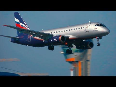 (+ATC) *CAVOK. Солнечное утро в Шереметьево. Посадки и взлеты самолетов. Март 2019 #Planespotting