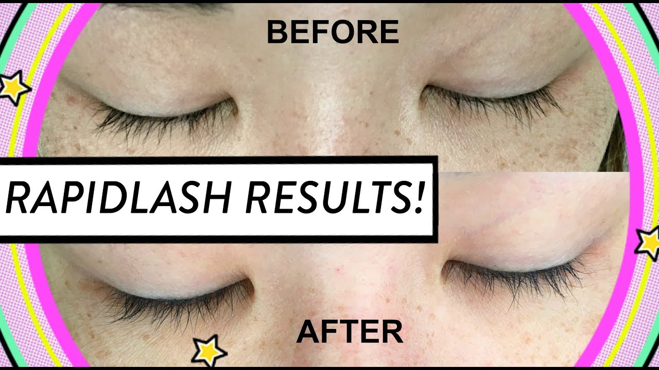Rapid Lash Review Results Before After Hellohannahcho Youtube