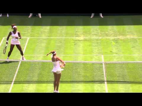 2013 Day 2 Highlights: Serena Williams v Mandy Minella