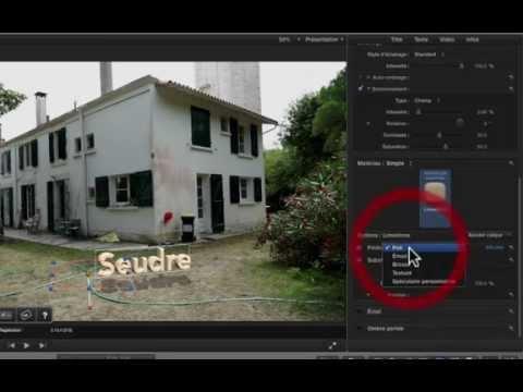DriveX, tracker un texte ou une animation dans FCPX