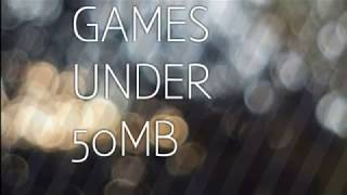 Top 5 most addictive Android games under 50mb