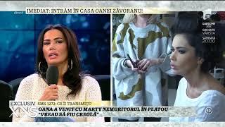 """Oana Zăvoranu: """"Vreau să mă fac creolă și să îmi colorez irisul, să am ochii albastri"""""""