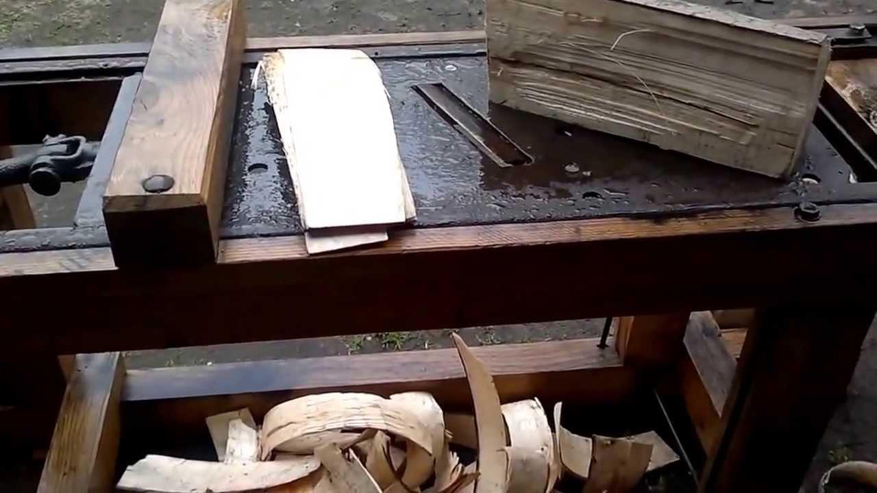 Станок для изготовления дранки своими руками
