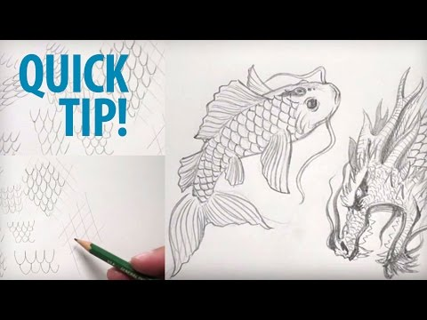 How To Draw Scales Freehand And With Guides (Quick Tip Tutorial)