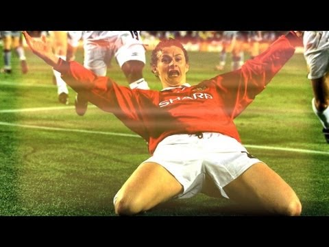 Ole Gunnar Solskjaer All 126 Goals in Manchester United - English Commentary