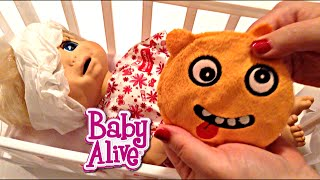 baby alive doll beatrix in hospital after she had a bad accident at the grand canyon