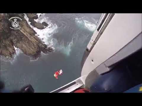 El «Pesca 1» rescata a un hombre de 70 años en Monteferro