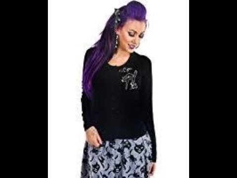 Review of Too Fast Women's Vintage Halloween Spooky Cats Bats Cardigan Sweater