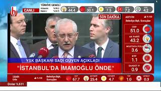 YSK Başkanı'ndan Anadolu Ajansı'na ayar: Bizim müşterimiz değil...