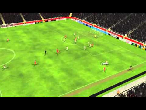 FC Bayern M�nchen vs VfB Stuttgart - Lahm Goal 8 minutes