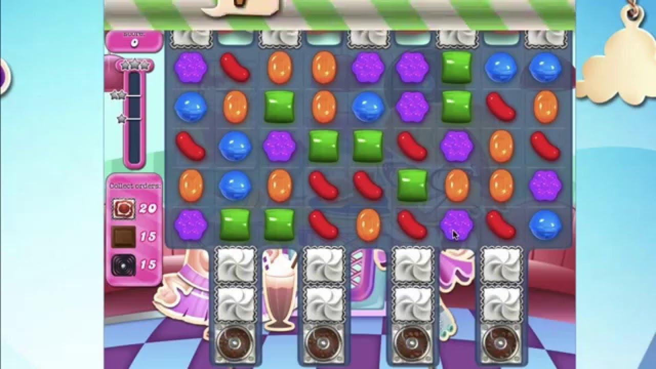 Candy Crush Saga Level 1447 No Booster Very Unusual Goal Youtube