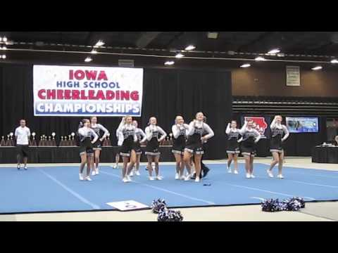 Central Springs High School State Cheer Competition 2011.m4v