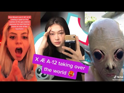 TikToks that absolutely don't make fun of Elon Musk's son X Æ A-12 at all 🤣😂👽