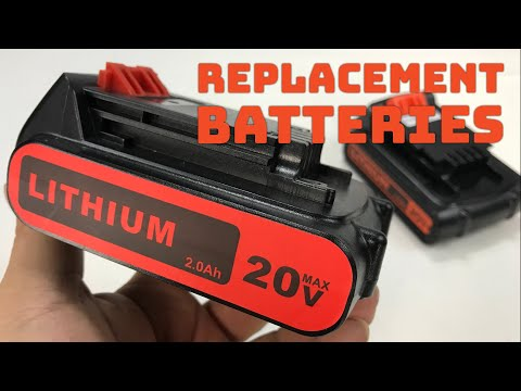 Great aftermarket discount lithium batteries for my Black + Decker cordless tools review!
