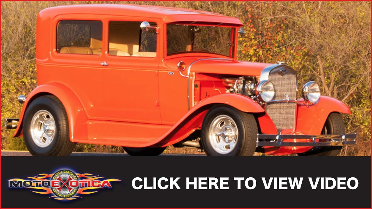 1931 Ford Model A Street Rod (SOLD) - YouTube