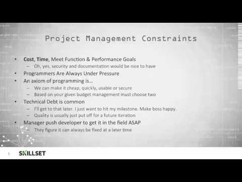 Secure Software Design (CISSP Free by Skillset.com)