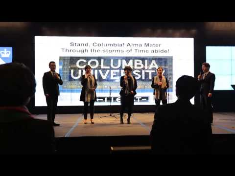 Stand Columbia Columbia Alumni Association of Korea By Singer's Club 홍정욱 치과