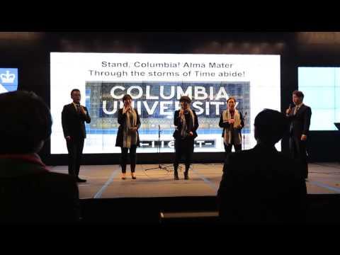 Stand Columbia Columbia Alumni Association of Korea By Singer's Club 홍정욱 치과