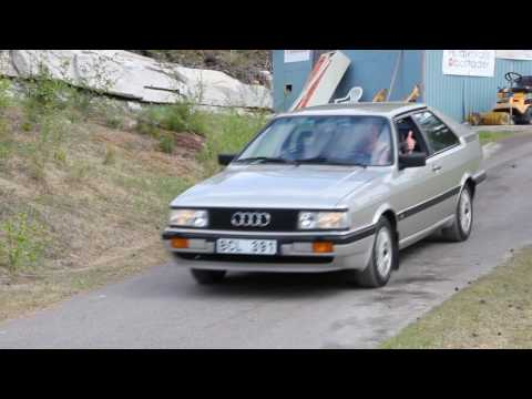 Audi Coupé Typ 81/85 Typ 89 meeting/ treffen 2017-  Sound!