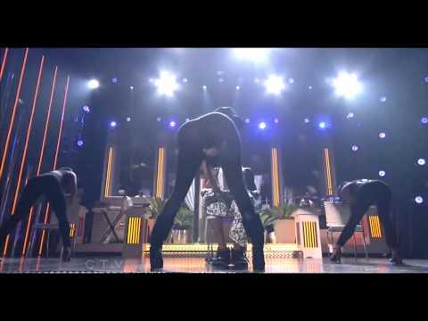 Nicki Minaj Twerking & Giving Lil Wayne A Lap Dance On Stage While Performing High School !