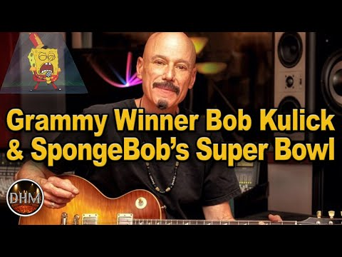 SpongeBob's Sweet Victory at the Super Bowl with Bob Kulick!