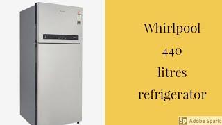 Whirlpool 440 litres refrigerator (DEMO)