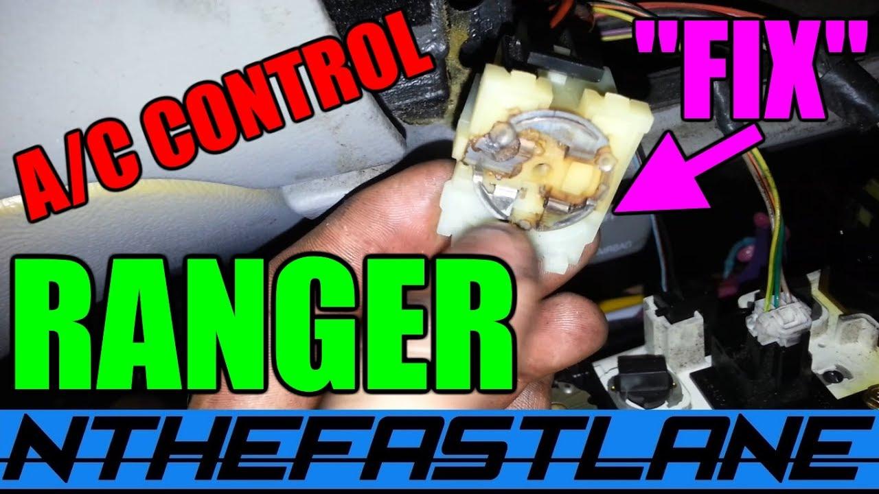 a c control console ford ranger fix  [ 1280 x 720 Pixel ]