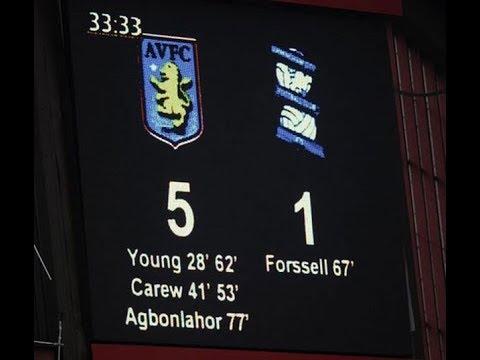 Aston Villa 5 Birmingham City 1 - Barclays Premier League - April 20th 2008