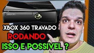XBOX 360 TRAVADO PODE RODAR JOGOS DE XBOX 360 DESBLOQUEADO 🤫🤫🤫