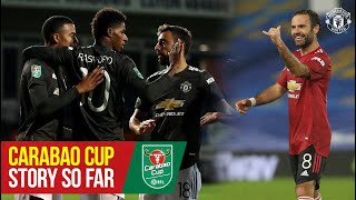 United's Carabao Cup Season So Far   Everton v Manchester United