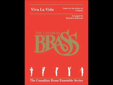 Viva La Vida Brass Quintet Score by Canadian Brass Publications