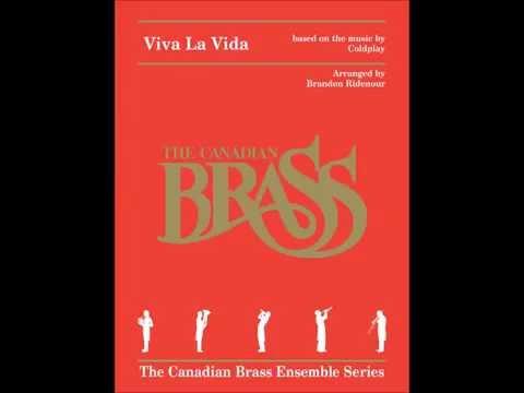 Viva La Vida Brass Quintet Score by Canadian Brass Publications