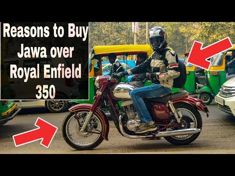 Jawa 300 Vs Royal Enfield Bullet 350 | Which One To Buy..? Comparision