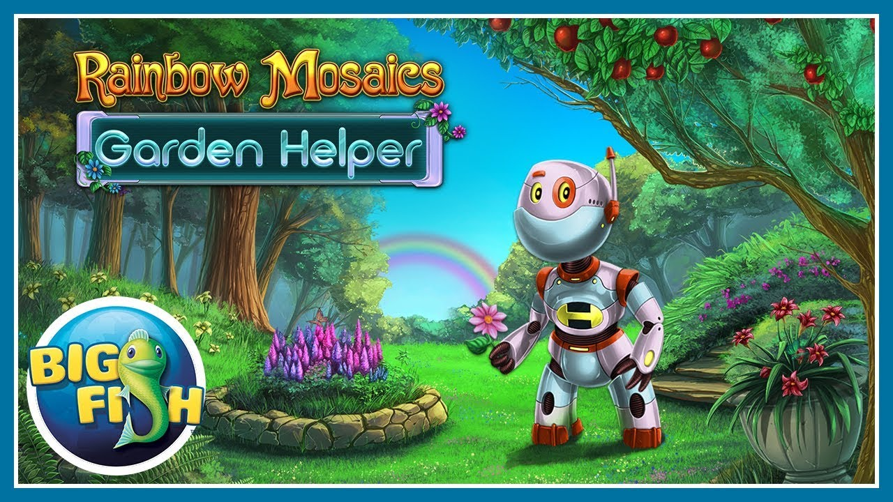 Rainbow Mosaics: Garden Helper > iPad, iPhone, Android, Mac & PC