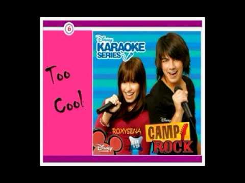 Too Cool - Camp Rock (Karaoke/Instrumental)