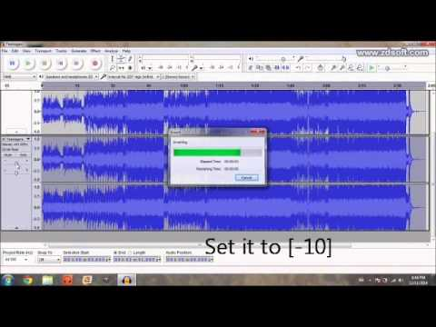How to make a 3D audio song  (With Audacity)