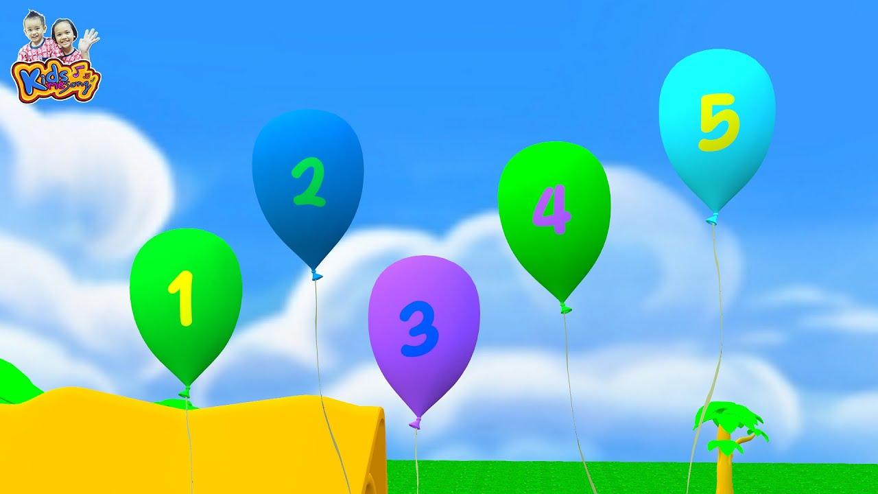 เพลง นับเลข 1-10 | มานับเลขกัน - เพลงเด็กพี่นุ่น น้องภูมิ By KidsMeSong