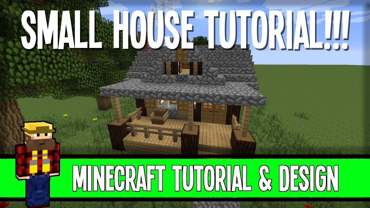 Small House Tutorial Easy But Classy Minecraft