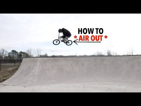 ** HOW TO AIR OUT ON ANY BIKE **