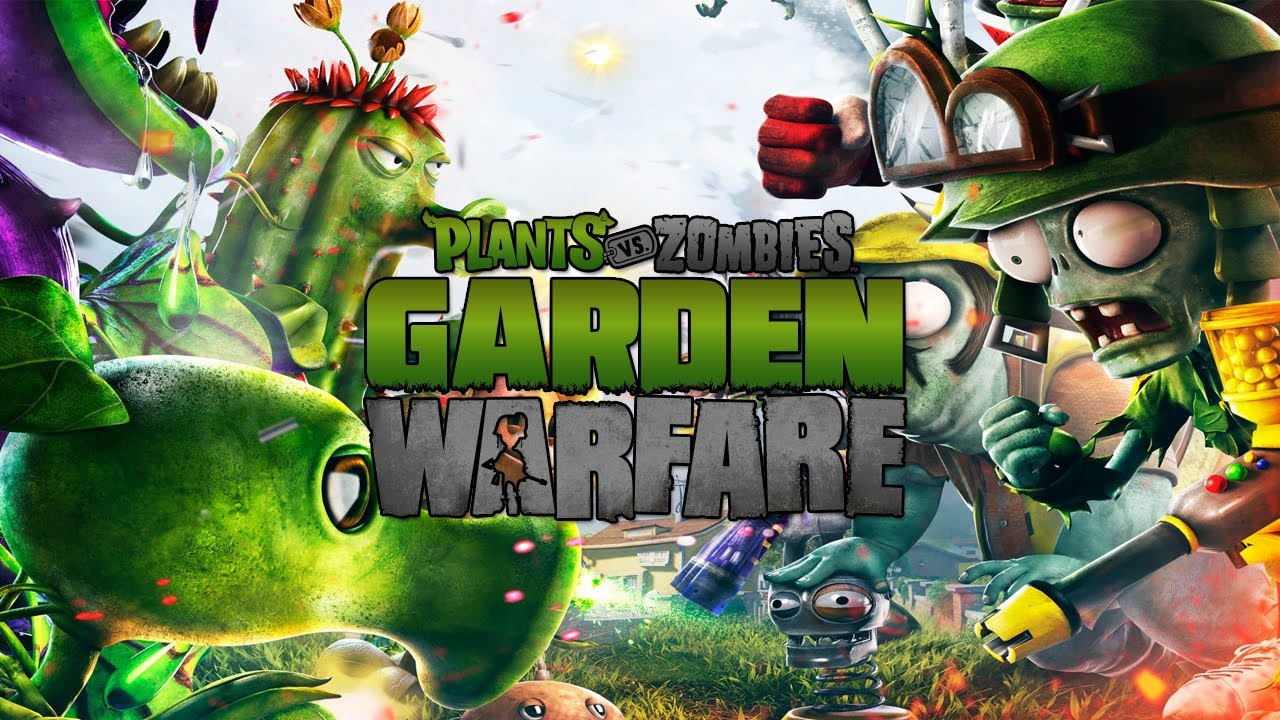 Plants Vs Zombies Garden Warfare Intro Team Vanquish Multiplayer Youtube