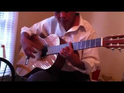 tu hoc guitar: practice Romance