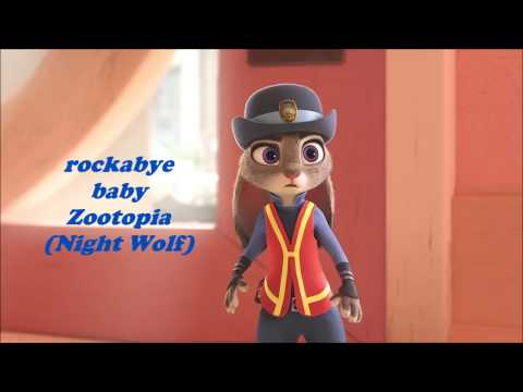 rockabye baby Zootopia ( Night Wolf)