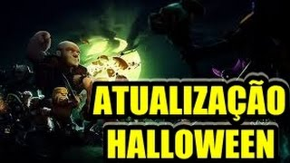 ATUALIZAÇÃO DE HALLOWEEN NO CLASH OF CLANS VEJA AS MUDANÇAS