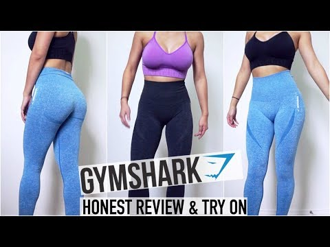 100% Honest GYMSHARK Seamless Legging Review & Try On | Worth the Hype?