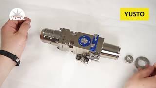 ✅ Обзор и разборка лазерной головки  Worthing WSX-GQ-MN-001D wsx