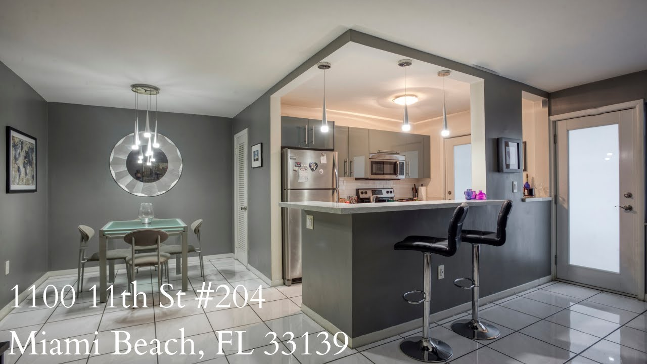 South Beach Condo For Sale! 1100 11th st unit 204