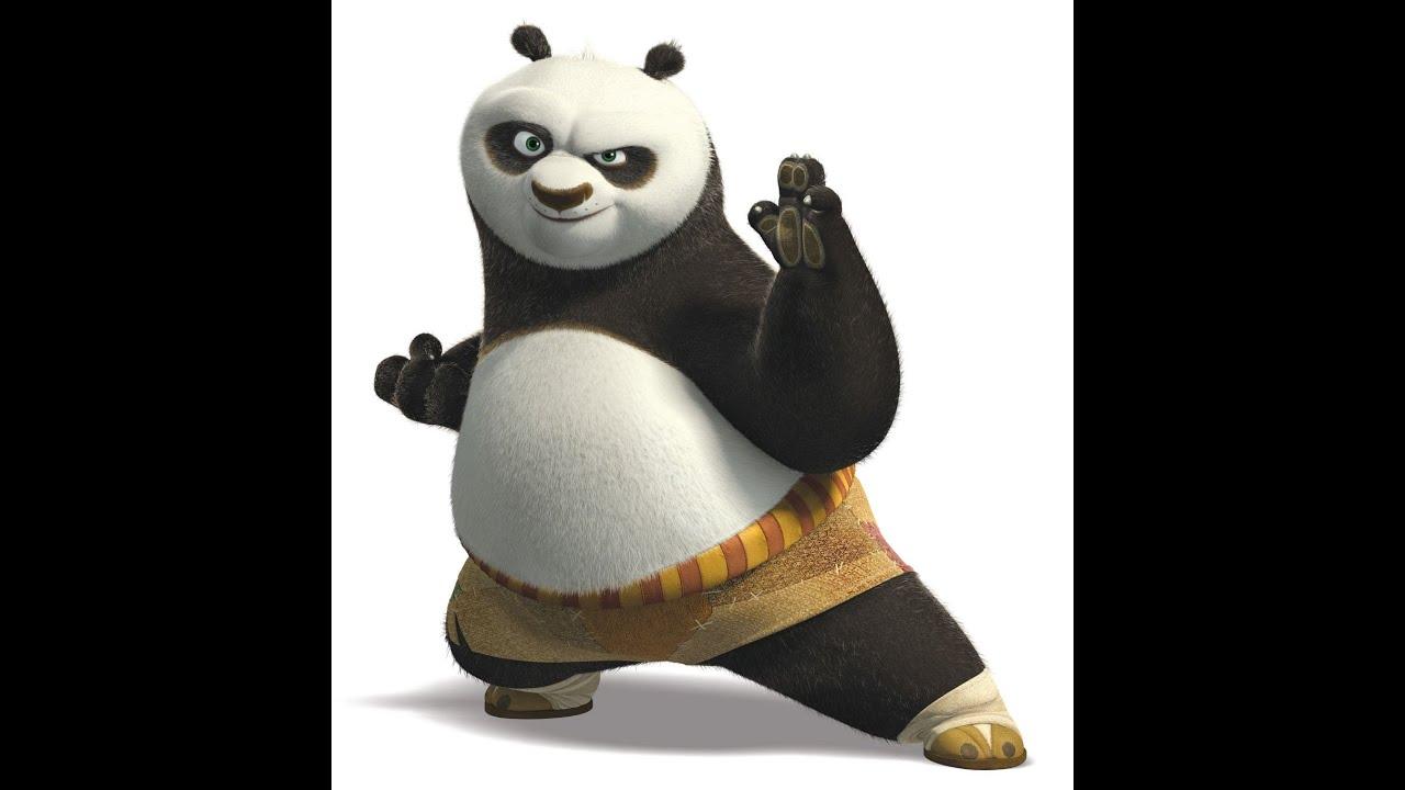 HOW TO DRAW KUNGFU PANDA 3 character PO( menggambar KUNGFU ...