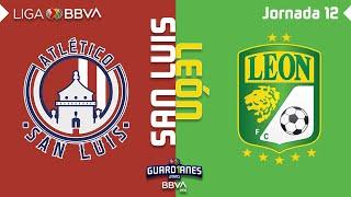 Resumen y Goles   San Luis vs León   Liga BBVA MX - Guard1anes 2020 - Jornada 12