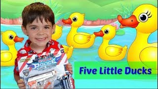 Five Little Ducks Went Out one Day-Kids Songs
